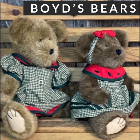Boyds Bears, Melinda and Melanie McRind Plush